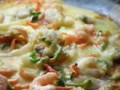 Seafoods Pizza