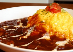 Beef Rice Omelet